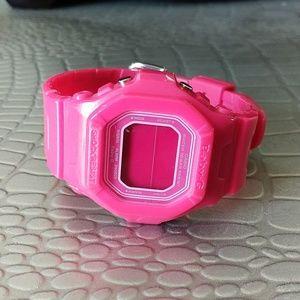Pink Baby-G/G-shock